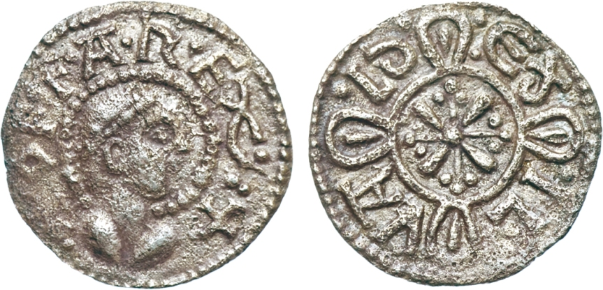 Kings of Mercia. Offa (757-796). Silver Penny, undated. Light coinage