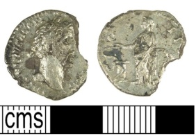 Denomination: Denarius (Empire) Ruler/issuer: Antoninus Pius Reece